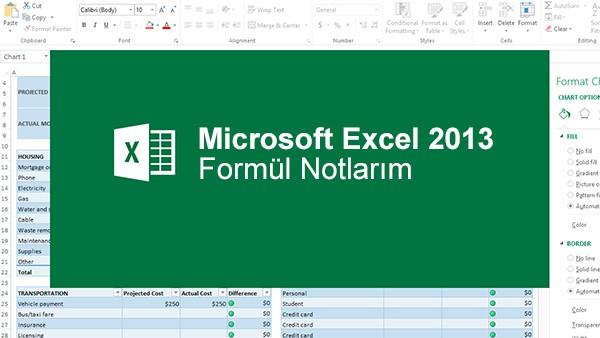 Excel'de Birleşik Yazılmış İsimleri Farklı Sütunlara Ayırma